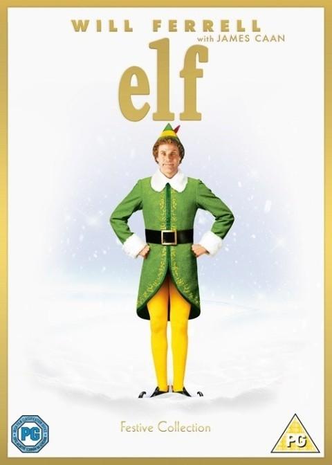 DVD's - Elf (hmv Christmas Classics) £9.99 OR £4.99 With any single Item.