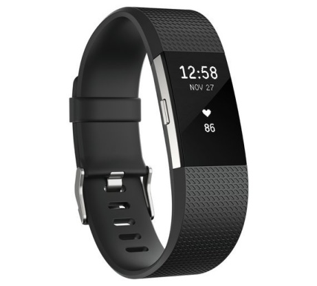 Fitbit Charge 2 HR + Fitness Large Wristband - Black: £109.99!