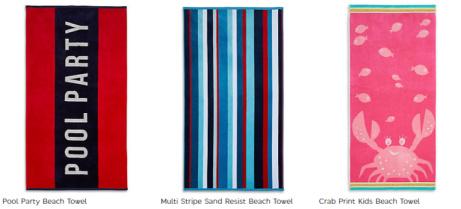 Beach Towels - Buy 1 Get 1 Half Price!