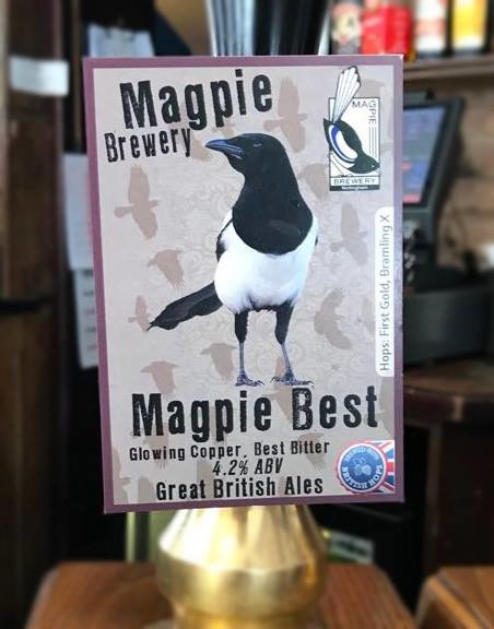 Another Tasty Beer on Tap... 'Magpie Best'