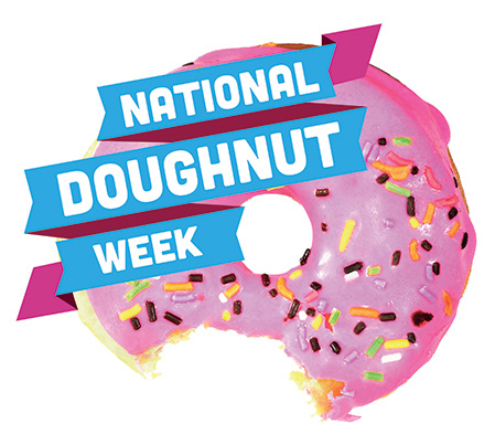 It's National Doughnut Week - Until Saturday we will donate 10% of profits to the children's trust!