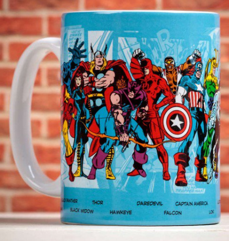 50% OFF Marvel Comics Character Mug!