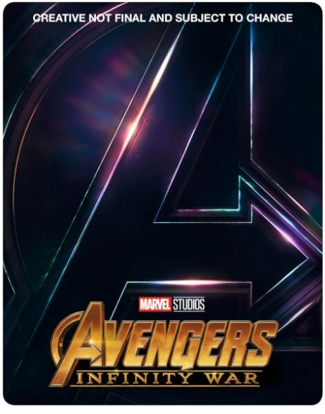 SAVE 17% OFF Avengers: Infinity War Blu-ray 3D (Includes 2D Version) Exclusive Limited Edition!!