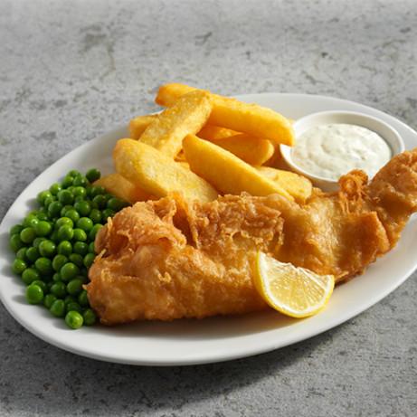Good Fryday Feast! FISH & CHIP Friday!