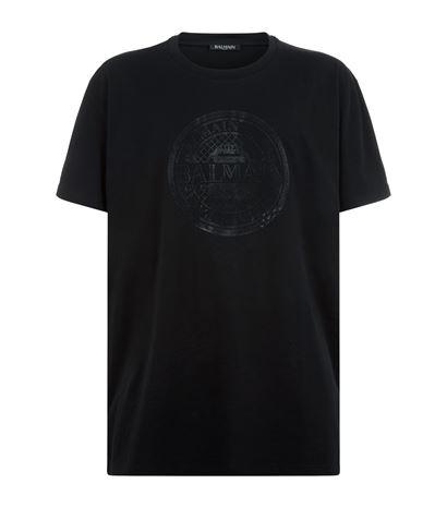 Balmain Medallion Logo T-Shirt: £190.00!