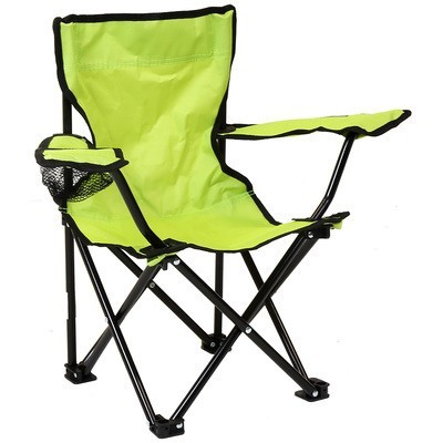Bentley Kid's Green Foldable Camping Chair – Pink & Green - £6.99 was £11.99