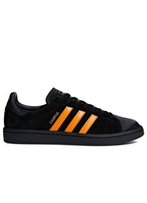 SAVE 30% - Campus Porter Shoe in Core Black/Bright Orange/Core Black!