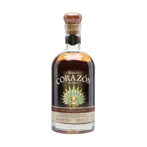 Corazon Anejo Single Estate Tequila 70CL - £36.95!