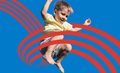 Go online to book a seriously bouncy session! Ages start from 4+ so the whole family can join!