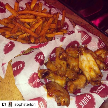 Enjoy some tasty finger food this Thursday with our BBQ spicy wings and sweet potato fries!
