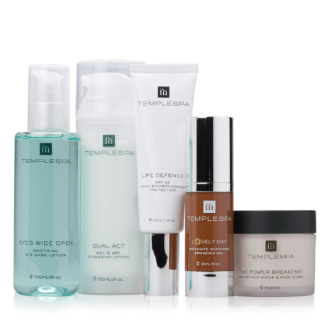 SAVE £25 on the Summer Skincare Essentials Collection by Temple Spa!