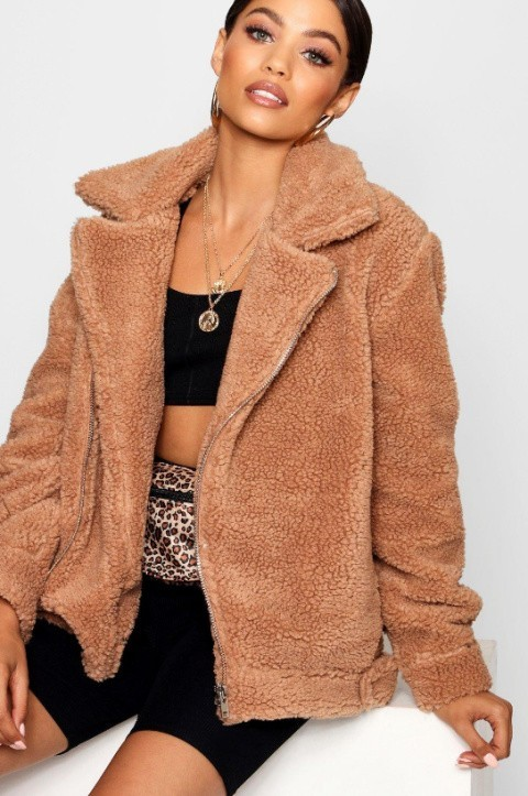 30% OFF Autumn Styles - Teddy Faux Fur Aviator!
