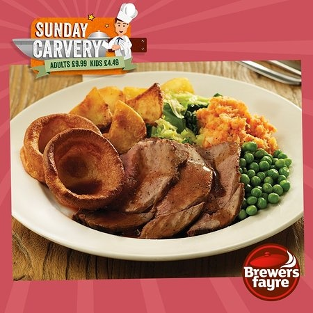 Sunday Carvery - ONLY £9.99 - From 12 - 6pm!