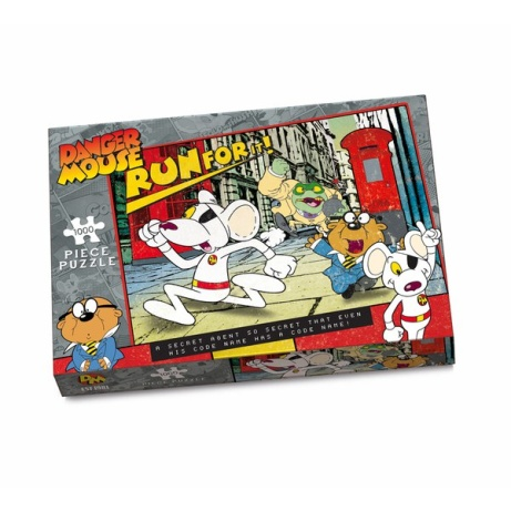SAVE over 30% on this Danger Mouse1000 Piece Puzzle!