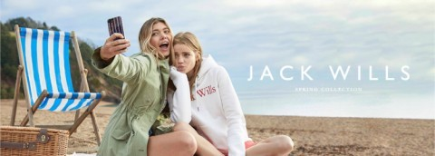 FREE £5 voucher to spend in store with Click&Collect at Jack Wills