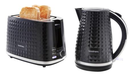 Goodmans Diamond Kettle & Toaster Set - ONLY £39.99!