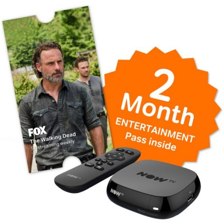 ONLY £14.99 - NOW TV Box with 2 MONTH Sky Entertainment Pass!
