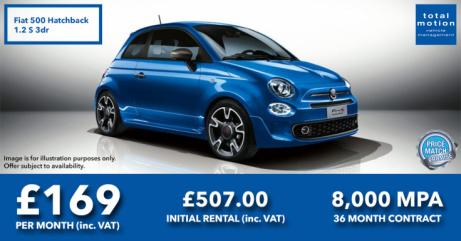 Fiat 500 S Leasing Offer