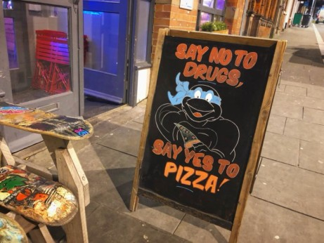 Half Price Pizza though out the whole of January!