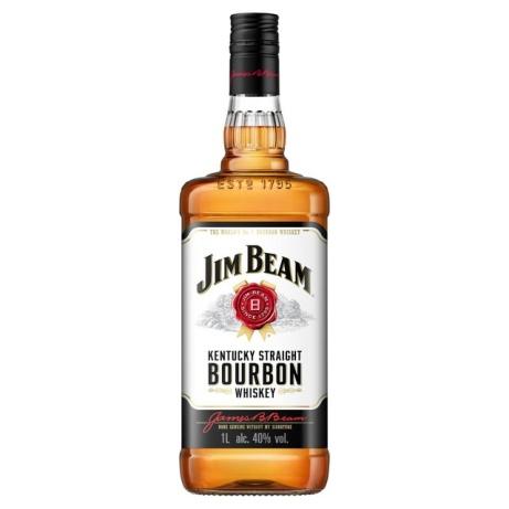SAVE 30% OFF Jim Beam White Label Bourbon 1L!