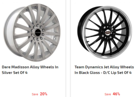 Up to 45% OFF Alloy Wheels at Demon Tweeks!
