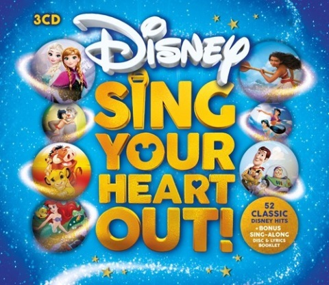 CHRISTMAS GIFTS - Disney Sing Your Heart Out! £9.99!