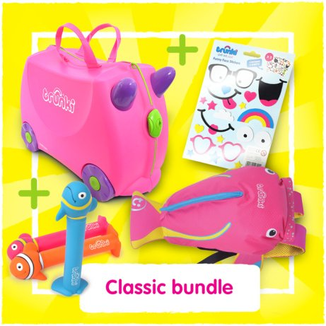 SAVE 37% on this Classic Pink & Blue Bundle!