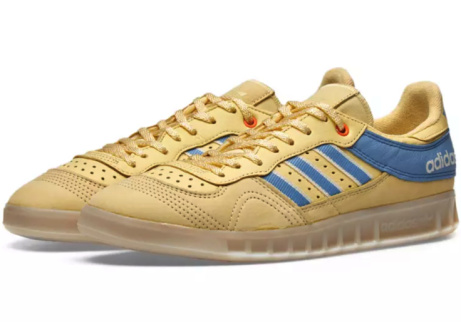 SAVE 40% OFF ADIDAS X OYSTER HOLDINGS HANDBALL TOP YELLOW, BLUE & WHITE!