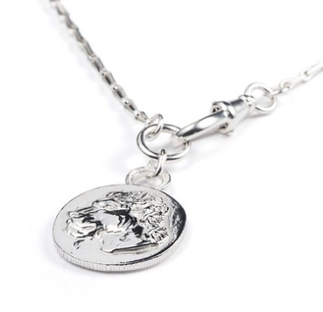 NEW IN - Large Lioness with Clasp Necklace: £210.00!
