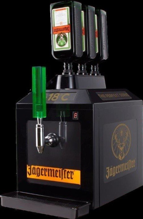 Get this Jagermeister Tap Machine - ICE COLD Shots Every Time!