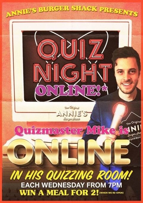 HEY ALL AMIGOS - PLAY OUR QUIZ TONIGHT AT 7pm!