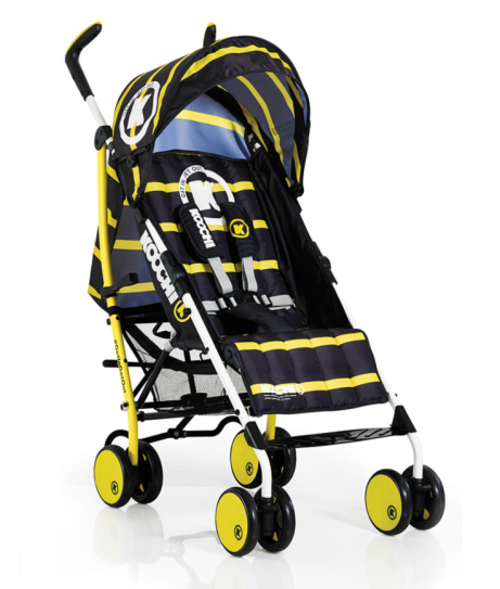 Koochi Sneaker Stroller in Yellow - LESS THAN 1/2 PRICE!