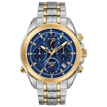50% OFF - Bulova Precisionist Men's 2 Colour Steel Bracelet Watch!