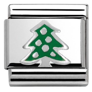 Get Christmassy - NOMINATION SILVERSHINE CHRISTMAS TREE CHARM £16.00!