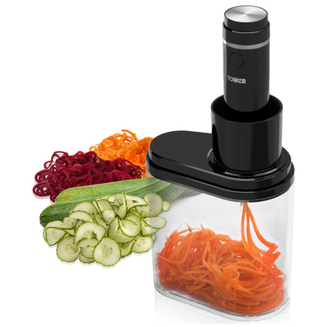 SAVE OVER 50% on this Tower Electric Spiralizer!