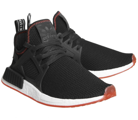 OVER 40% OFF - Adidas Nmd Xr1 Black Solar Red Trainers!