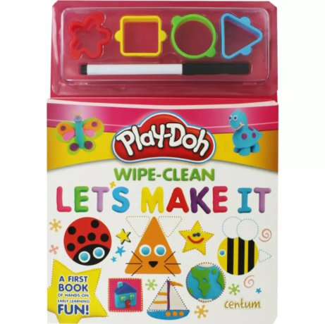 SAVE 80% on this Play-Doh Wipe-Clean Activity Book!