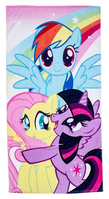 SAVE 70% on this My Little Pony Equestria Towel!