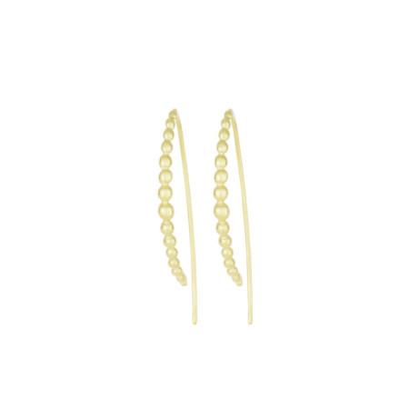 New In Jewellery: V Boule Gold Earrings - JUST £65.00