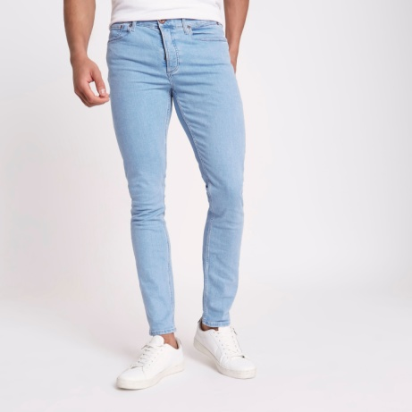 SAVE 50% OFF these Light blue Sid skinny fit jeans!