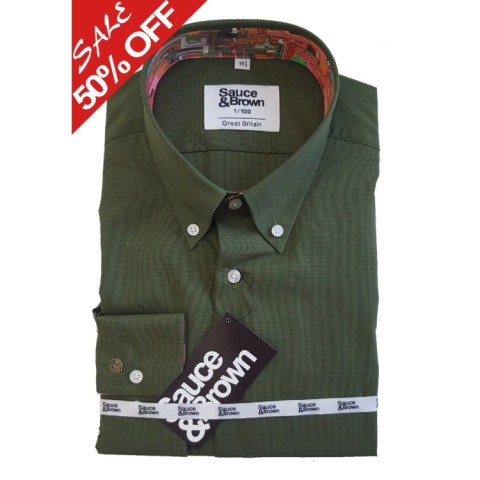 Save 50% on this Olive Liquify Shirt