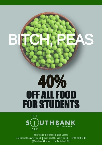 Students can enjoy 40% discount off all food here at Southbank City.