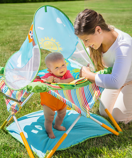 SAVE 30% on this Summer Infant pop n jump with canopy!