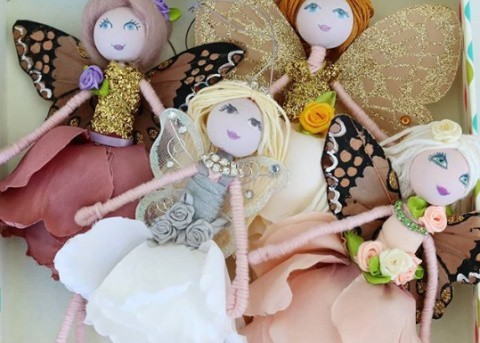 Fairies - Handmade in-house as an ideal gift or interior decoration available in our shop!