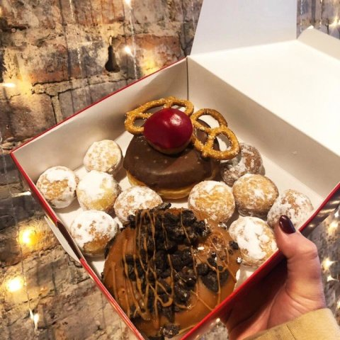 Last day for all pre-orders before Christmas is Thursday 20th Dec, midday 🍩