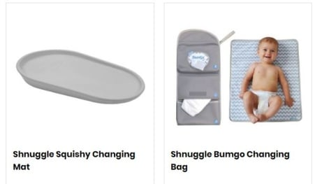 SAVE up to 17% on Shnuggle bath products at Uber Kids!