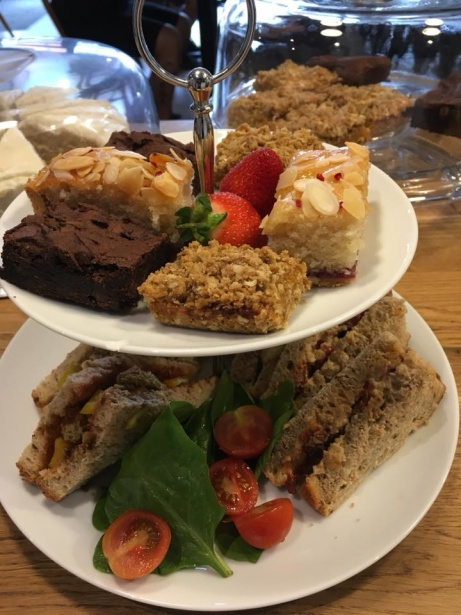 Try our vegan afternoon tea!