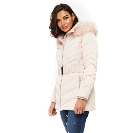 Wallis Blush Padded Coat - NOW ONLY £35