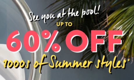 SAVE up to 60% on Summer Essentials!