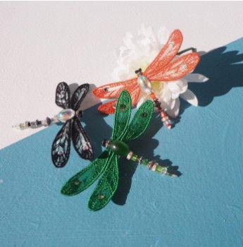 Adorable Lillia DragonFly Brooch only £24 and available in three colours.